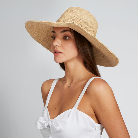 Wide Brim Panama  NATURAL  hi-res