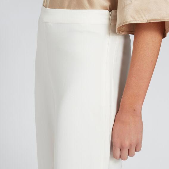 Flowing Wide Leg Pant  CLOUD CREAM  hi-res