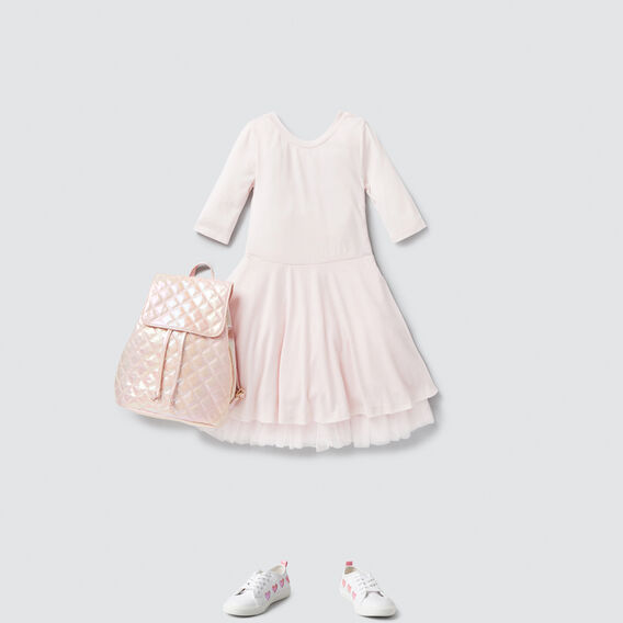 Jersey Party Dress  ICE PINK  hi-res