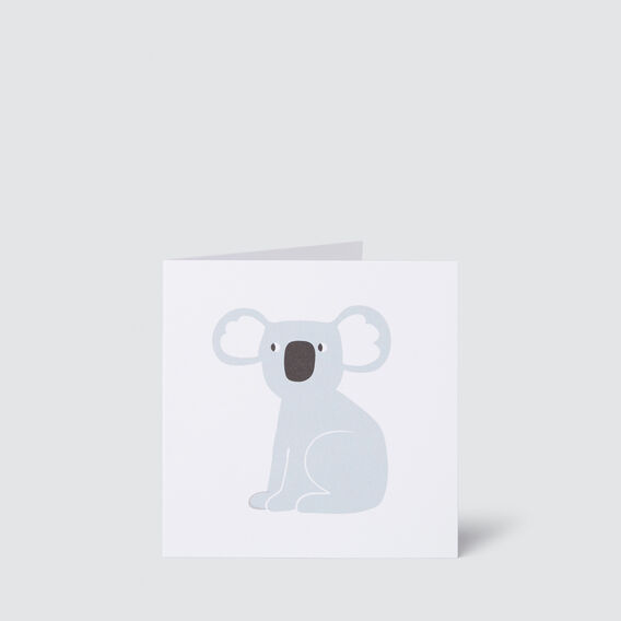 Small Koala Card  MULTI  hi-res