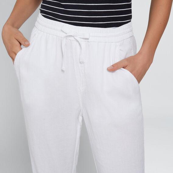 Elastic Cuff Pant  WHISPER WHITE  hi-res