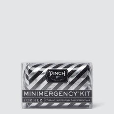 Minimergency Kit  BLACK/SILVER STRIPE  hi-res
