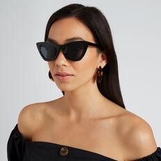 Libby Cat Eye Sunglasses  BLACK  hi-res