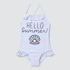 Embroidered Bather  BLUEBELL  hi-res