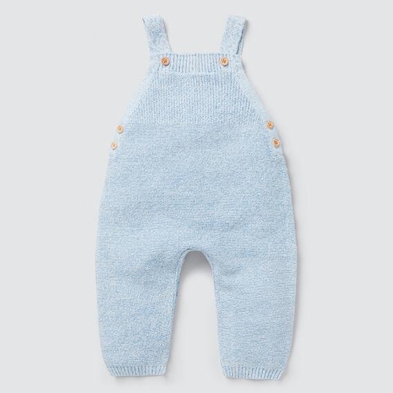 Knit Overall  DUSK BLUE  hi-res