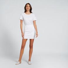 Classic Denim Mini  WHITE  hi-res