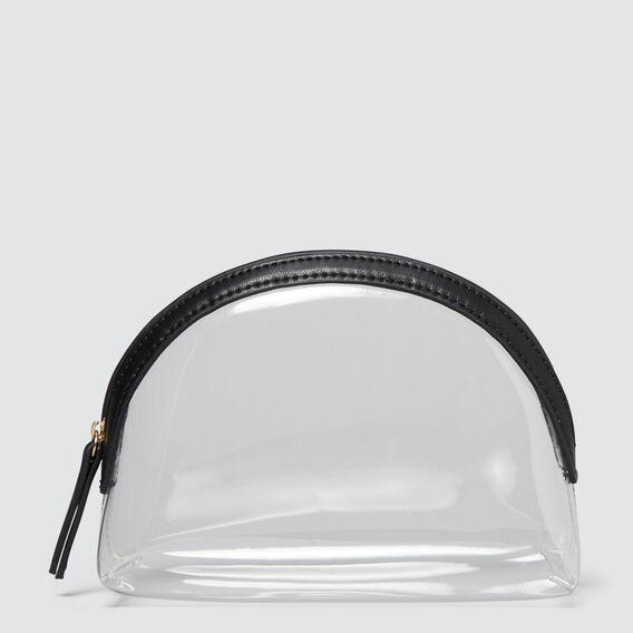Small Clear Cosmetic Case  CLEAR  hi-res