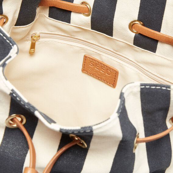 Sports Day Bag  NAVY/CREAM  hi-res