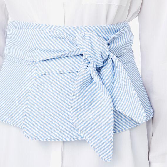 Belt Tie Bodice  STRIPE  hi-res