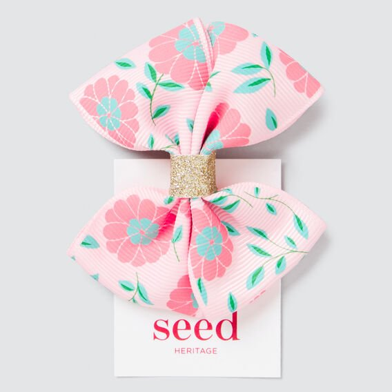 Floral Print Bow  MULTI  hi-res