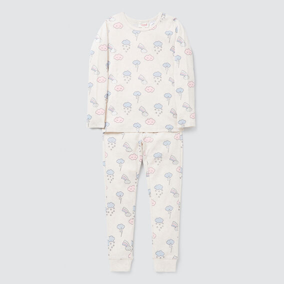 Cloud Yardage Pyjama Set  OAT MARLE  hi-res