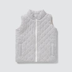 Knit Puffa Vest  VINTAGE WHITE  hi-res