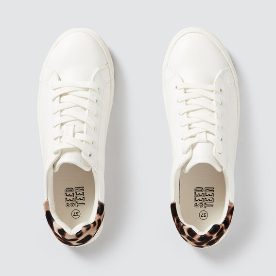 Ocelot Back Sneaker  WHITE  hi-res