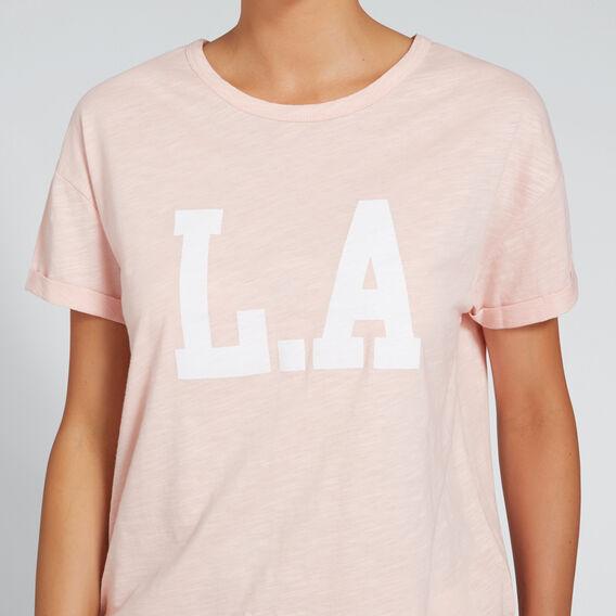 L.A. Tee  BLUSH  hi-res