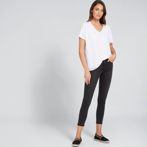 Mid-Rise Skinny Jean  CHARCOAL DENIM  hi-res