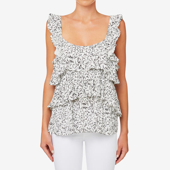 Mono Frill Top  MINI FLORAL  hi-res