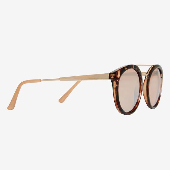 Chelsea Round Topbar Sunglasses  TORT  hi-res