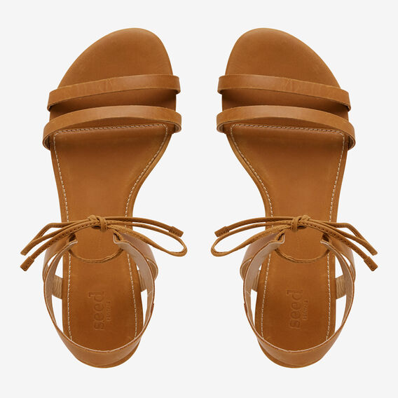 Alexa Tie Sandal  TAN  hi-res