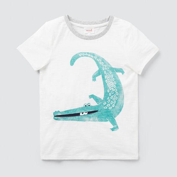Alligator Tee  VINTAGE WHITE  hi-res