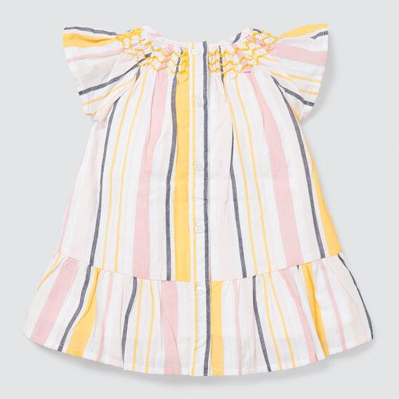 Multi Stripe Dress  MULTI  hi-res