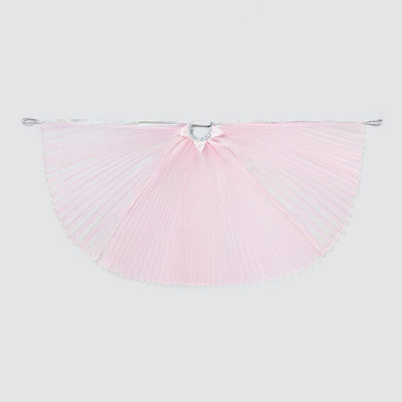 Pleated Lustre Cape  PINK  hi-res
