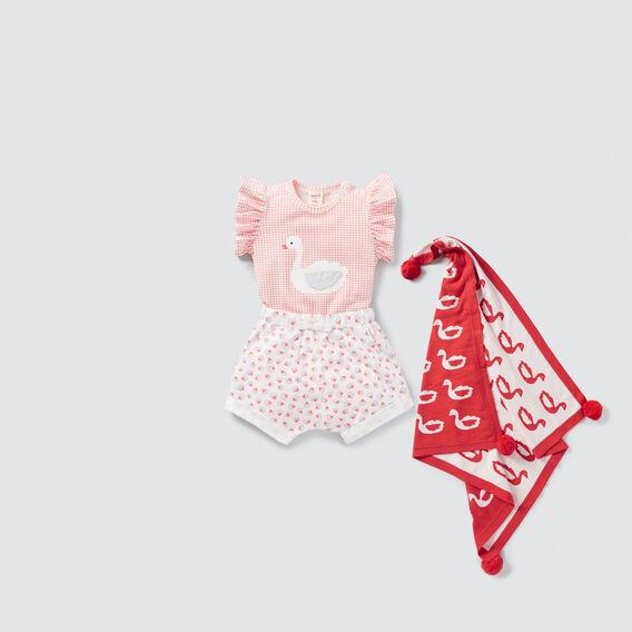 Swan Frill Bodysuit  TANGO RED  hi-res
