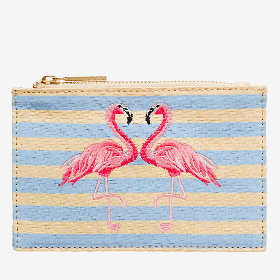 Tropic Coin Purse  FLAMINGO  hi-res