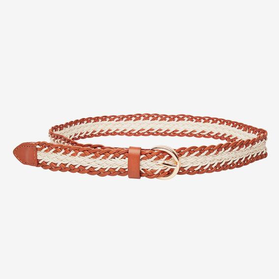 Multi Braid Belt  TAN  hi-res