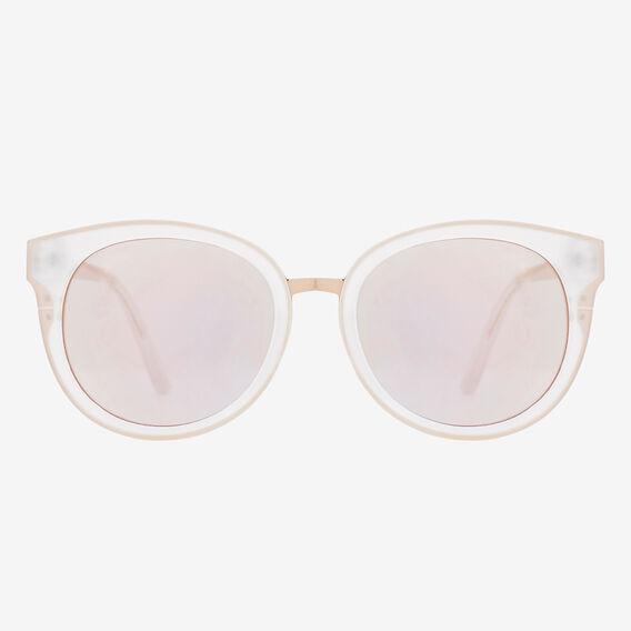 Mia Matte Revo Sunglasses  WHITE  hi-res