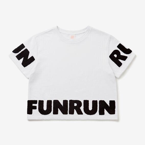 Fun Run Tee  SNOW WHITE  hi-res