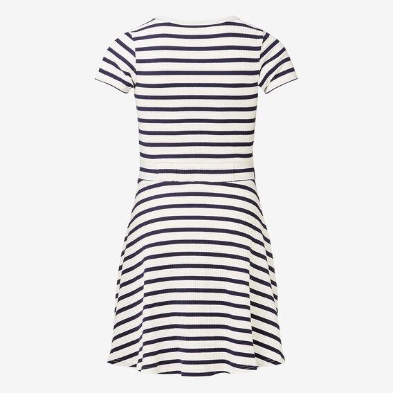 Twist Front Dress  MIDNIGHT/CANVAS  hi-res