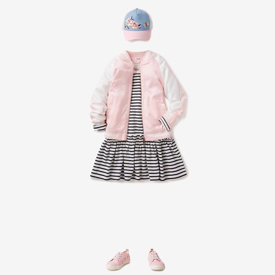 Stripe Dress  NAVY  hi-res