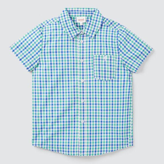 Check Shirt  PARROT GREEN  hi-res