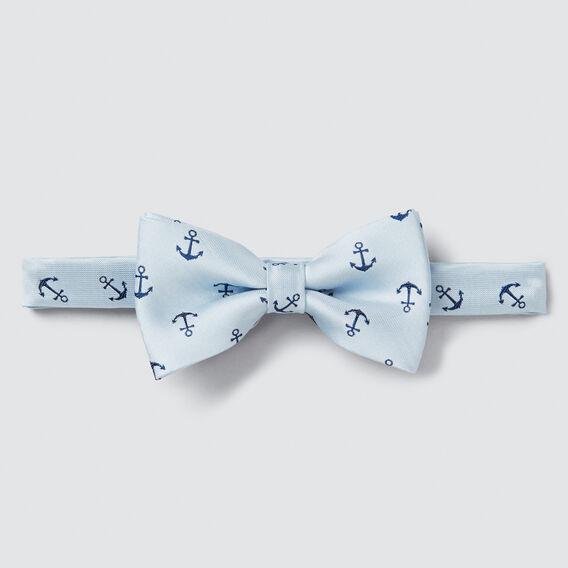 Satin Anchor Bow Tie  PALE BLUE  hi-res