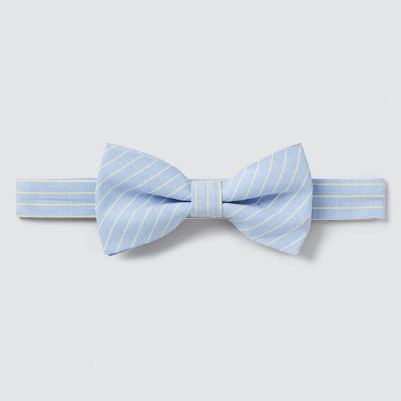 Stripe Bow Tie  CHAMBRAY  hi-res