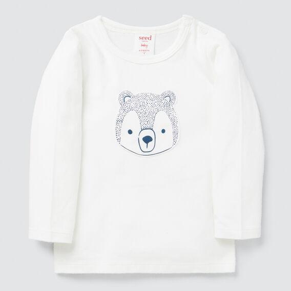 Spotty Bear Tee  CANVAS  hi-res