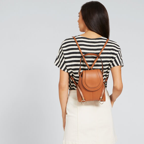 Mini Convertible Backpack  TAN  hi-res
