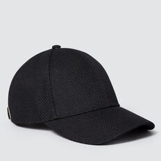 Mesh Knit Cap  BLACK  hi-res