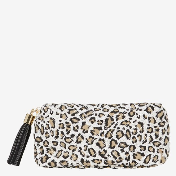 Small Cosmetic Bag  QUILTED OCELOT  hi-res
