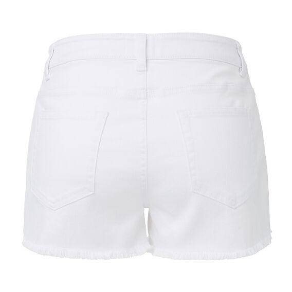 Denim Short  WHITE  hi-res