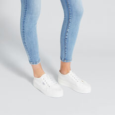Billie Flatform Sneaker  WHITE  hi-res