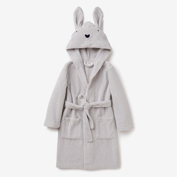 Bunny Dressing Gown  DOVE GREY  hi-res