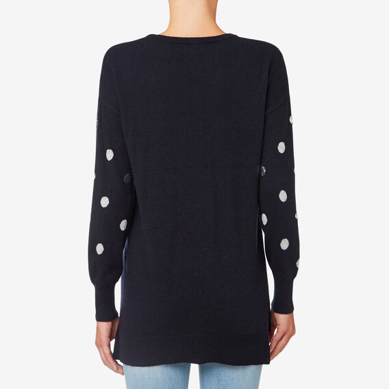 Spot Sweater  DEEP NAVY  hi-res