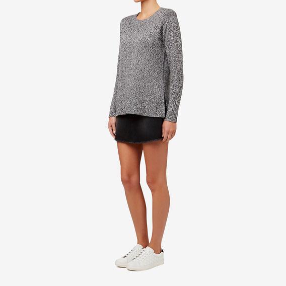 Denim Mini Skirt  CHARCOAL DENIM  hi-res