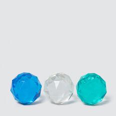 Gemstone Balls X 3  MULTI  hi-res