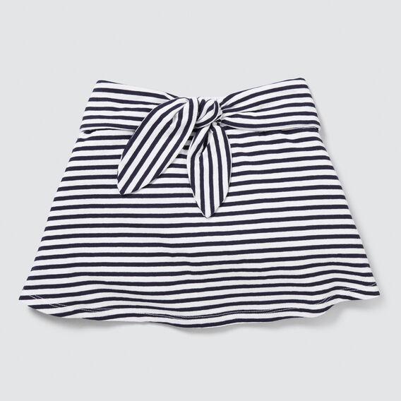 Stripe Jersey Skirt  NAVY/WHITE  hi-res