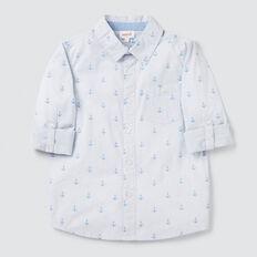 Printed Shirt  CORNFLOWER BLUE  hi-res