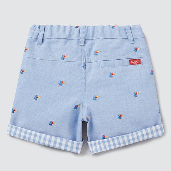 Oxford Chino Short  CORNFLOWER BLUE  hi-res