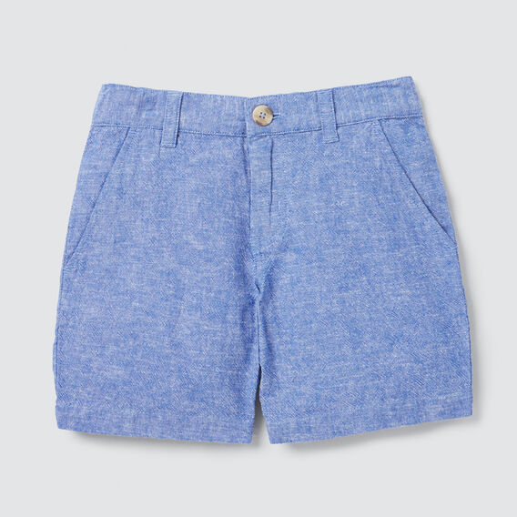 Textured Chino Short  BRIGHT COBALT  hi-res