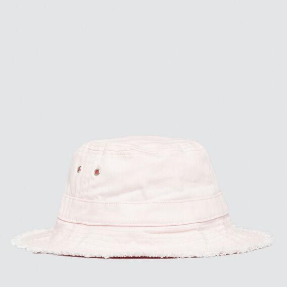 Frayed Brim Sun Hat  ICE PINK  hi-res